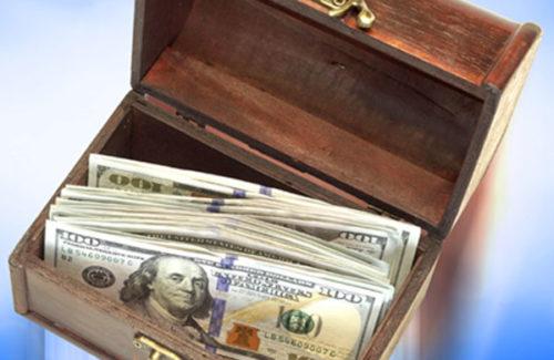 JEWELRY CASH BOX